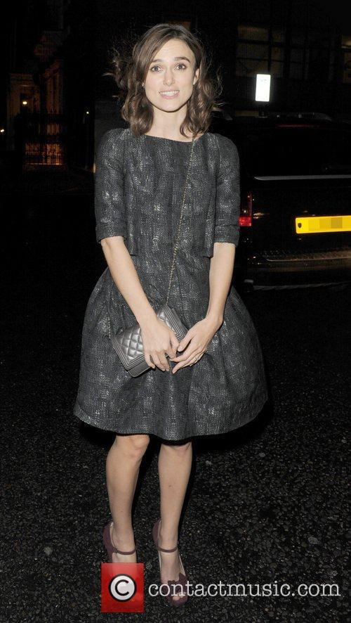 Keira Knightley, Chanel Dinner