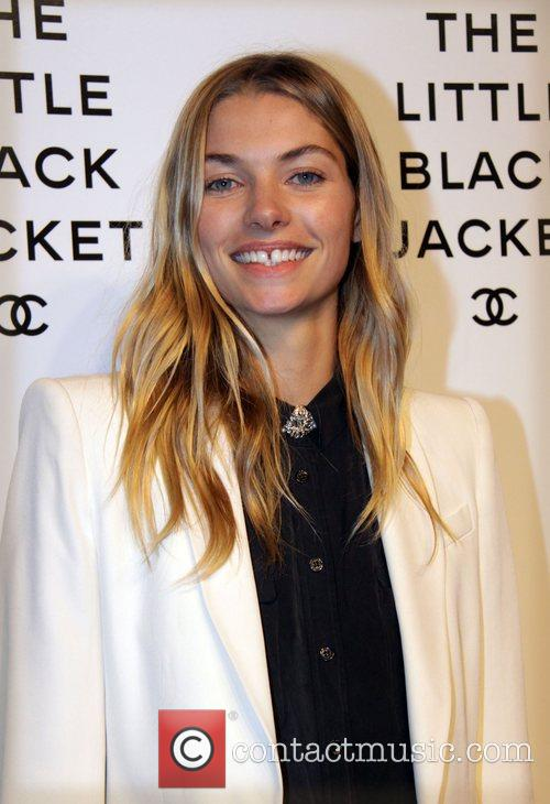 Jessica Hart Chanel's, The Little Black Jacket Event...