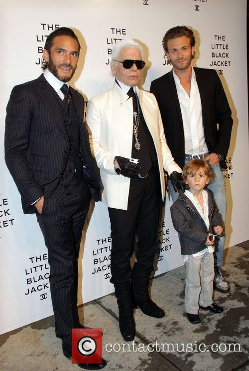 Karl Lagerfeld and guests Chanel's, The Little Black...