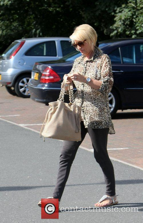 Chantelle Houghton's mother Vivien out and about in...
