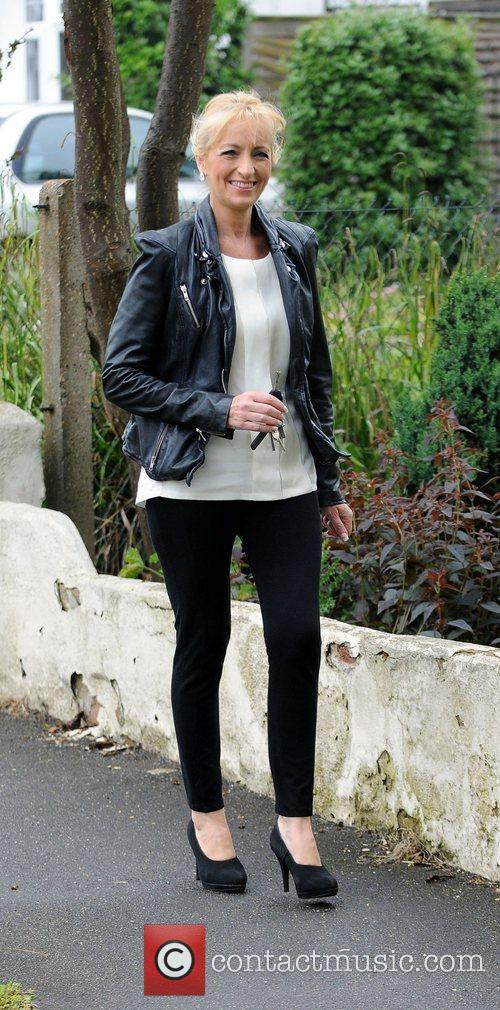 Arriving at Chantelle Houghton and Alex Reid's house,...
