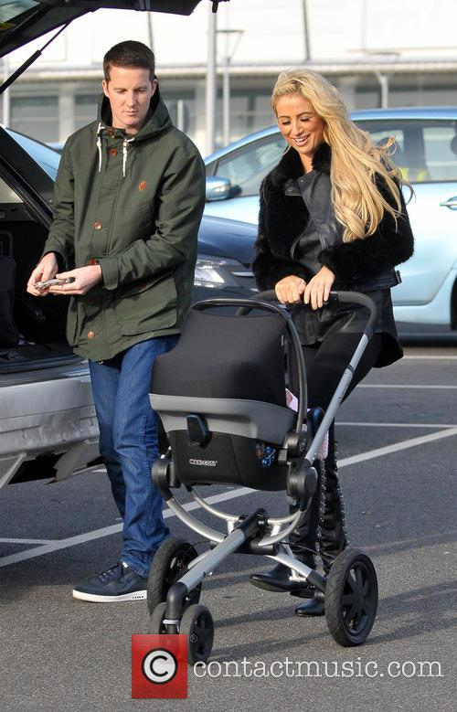 Chantelle Houghton goes shopping with her daughter Dolly...