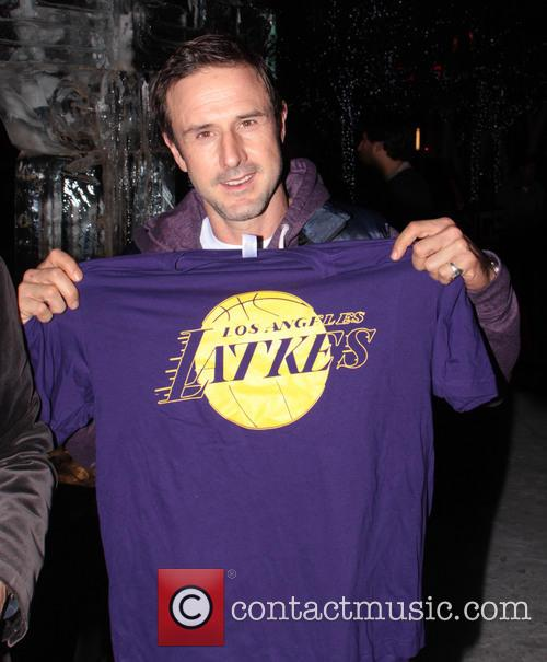 David Arquette, L, A. Live Chanukah, Event and Nokia Plaza L. 3