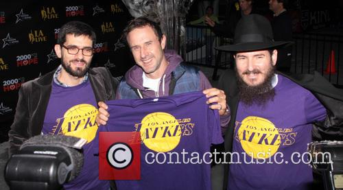 David Arquette, L, A. LIVE Chanukah, Event and Nokia Plaza L. 15