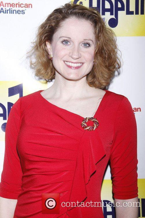 Christiane Noll  attending the Broadway opening night...