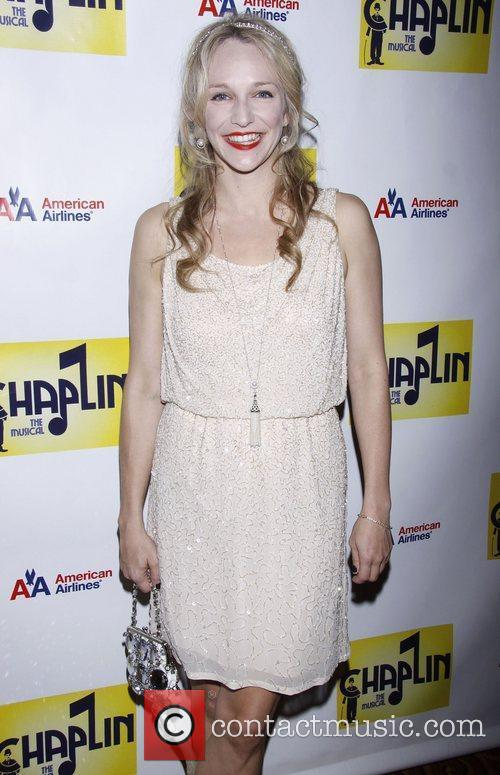 Emilee Dupre attending the Broadway opening night after...