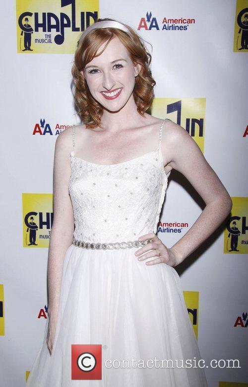Erin Mackey  attending the Broadway opening night...