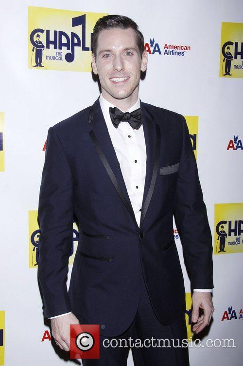 Ian Liberto  attending the Broadway opening night...
