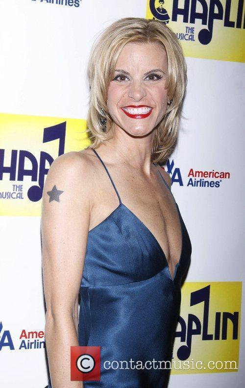 Jenn Colella attending the Broadway opening night after...