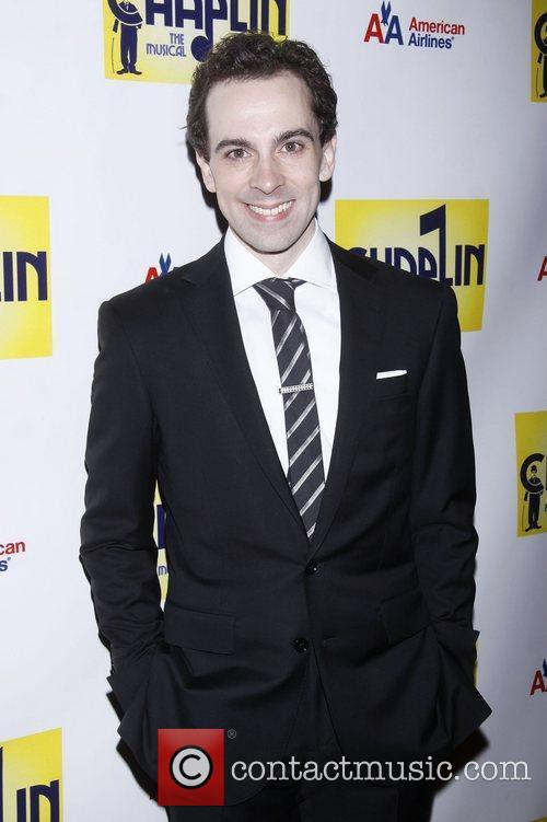 Rob McClure  attending the Broadway opening night...