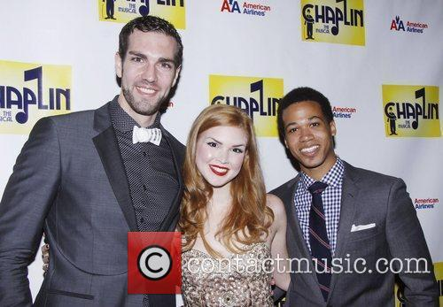 Timothy Hughes, Emily Tyra and Adam Rogers...
