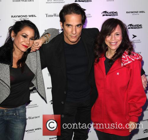 Daphne Rubin-vega, Yul Vazquez, Rosie Perez and Labyrinth Theater Company Celebrity Charades 5