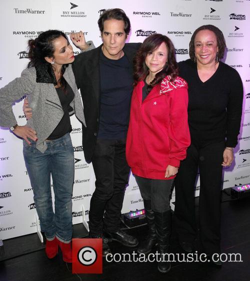 Daphne Rubin-vega, Yul Vazquez, Rosie Perez, S. Epatha Merkenson and Labyrinth Theater Company Celebrity Charades 2