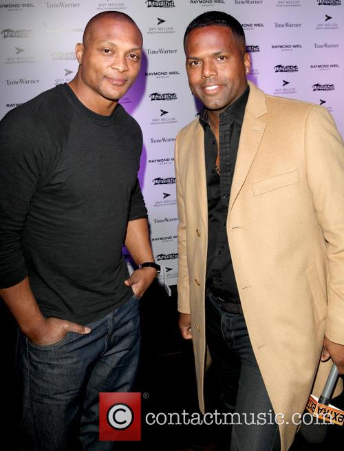 Eddie George, A.j. Calloway and Labyrinth Theater Company Celebrity Charades 3