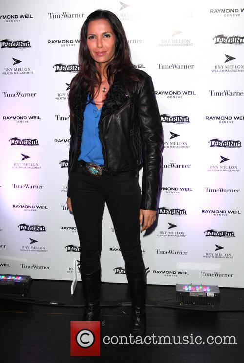 Padma Lakshmi LAByrinth Theater Company Celebrity Charades 2013...