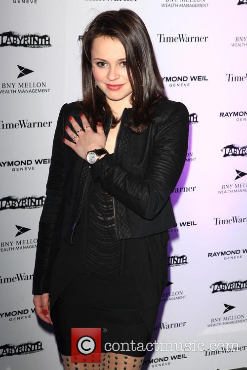 Sasha Cohen LAByrinth Theater Company Celebrity Charades 2013...