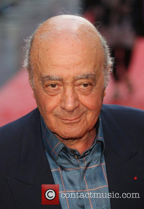 Mohammed Al Fayed and Empire Leicester Square