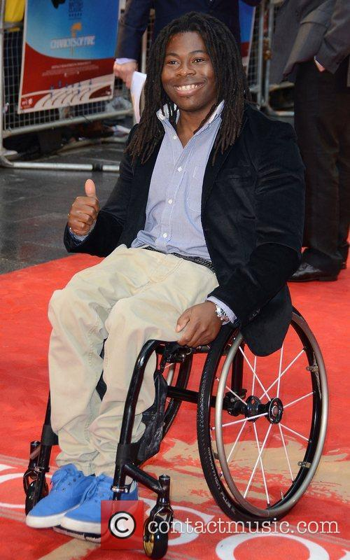 Ade Adepitan Chariots of Fire premiere held at...