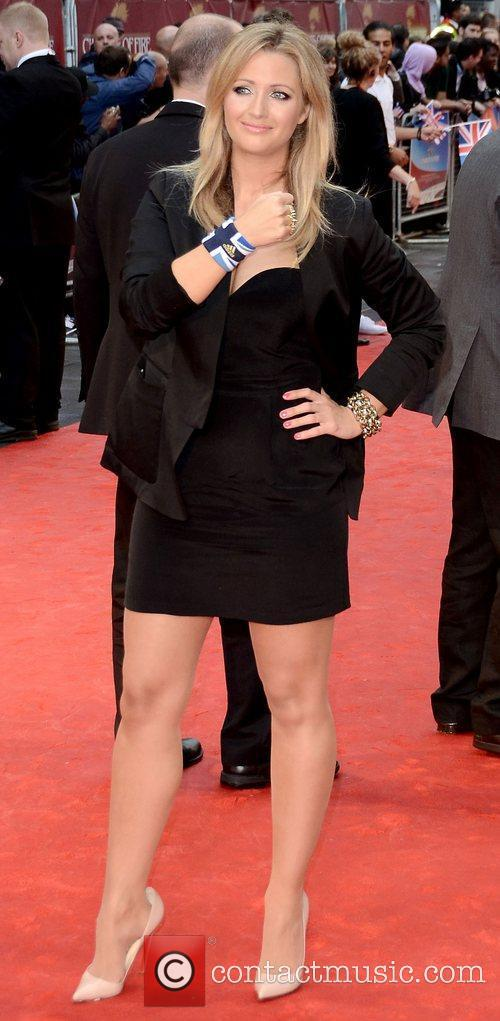 Hayley McQueen Chariots of Fire premiere held at...