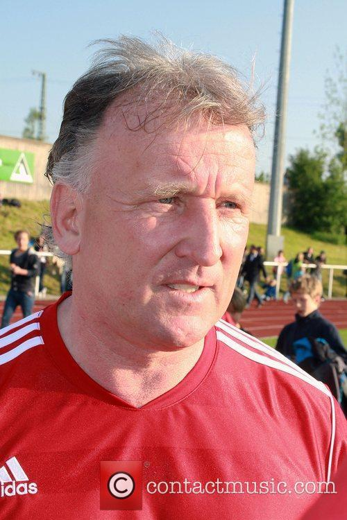 Andreas Brehme First Liga for Charity football match...