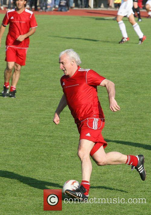 Rudi Voller First Liga for Charity football match...
