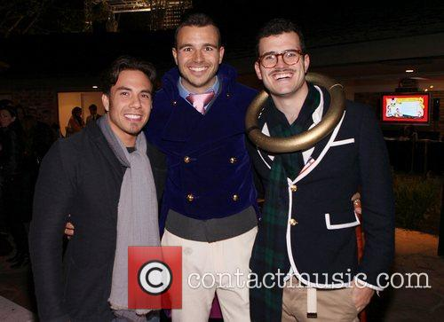 Apolo Ohno, Charlie Ebersol and Willie Ebersol Charlie...