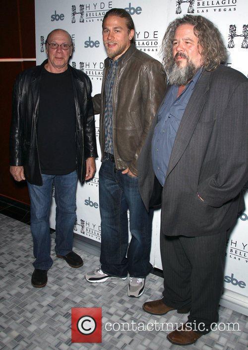 Dayton Callie, Charlie Hunnam, Mark Boone Junior Charlie...