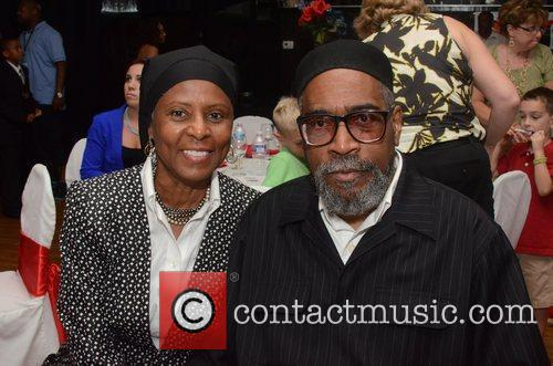 kenny and faatimah gamble celebrities attend the 5881887