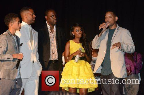 Will Smith, Aj Calloway and Jaden Smith 3