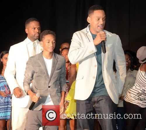 Will Smith, Aj Calloway and Jaden Smith 6