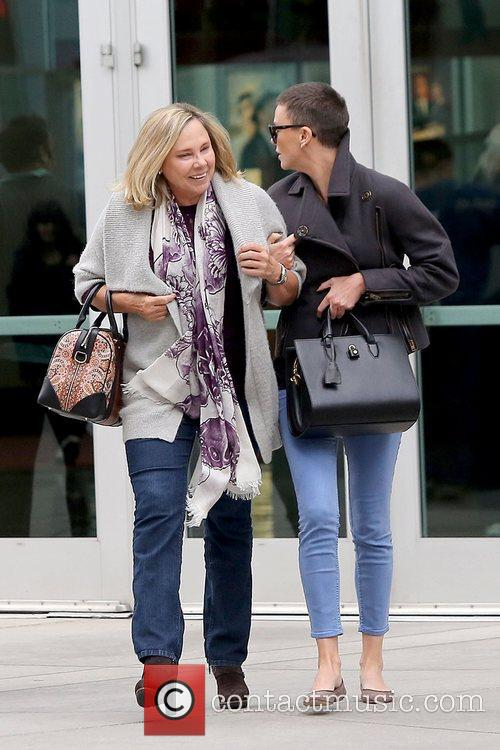 Charlize Theron and Arclight Theater 4