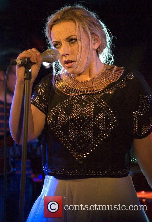 Charlotte Church performing
