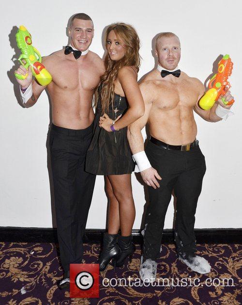 Jay Brogan, Charlotte-Letitia Crosby and Bryan Hickey Geordie...