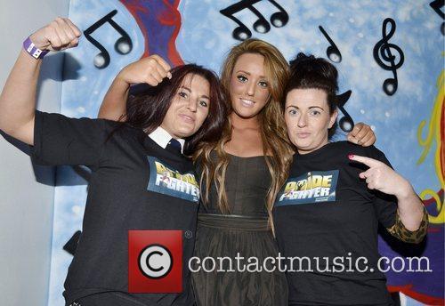Nadine Blount, Charlotte-Letitia Crosby and Amanda Blount Geordie...