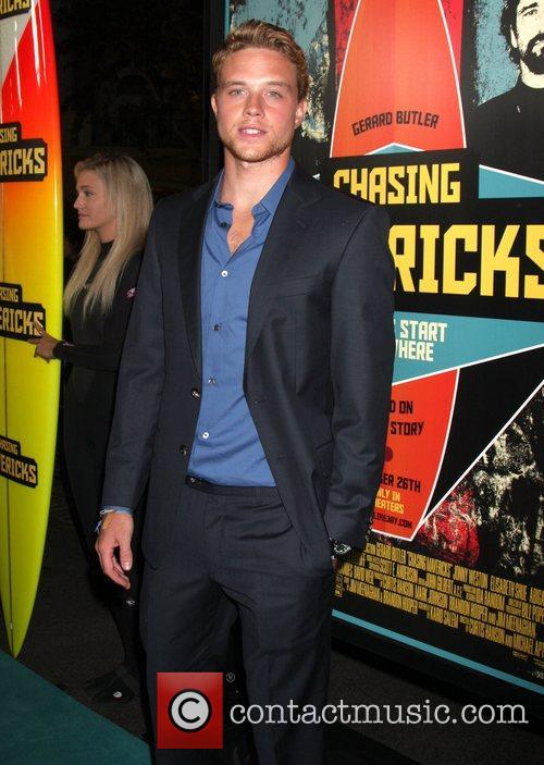Jonny Weston The Los Angeles Premiere of 'Chasing...