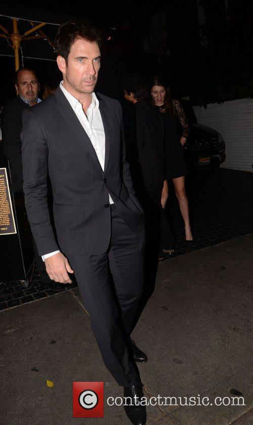 Dylan McDermott at the Chateau Marmont Hollywood, California