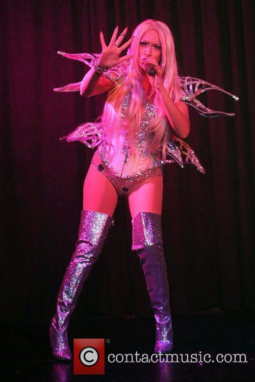 Kaya Jones performing her new album at Cherry...