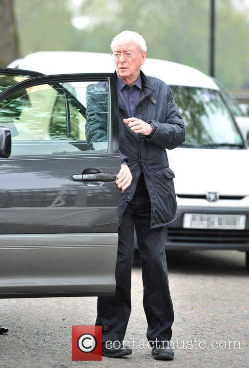 Sir Michael Caine and wife Shakira Chelsea Flower...