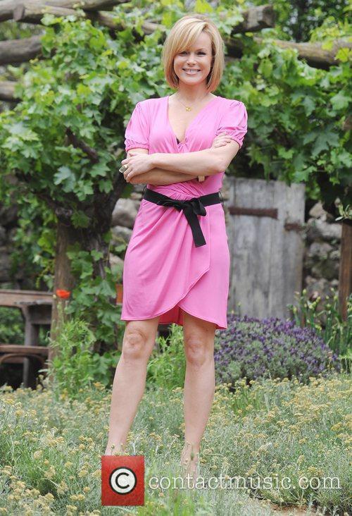 Amanda Holden Chelsea Flower Show Press Day...
