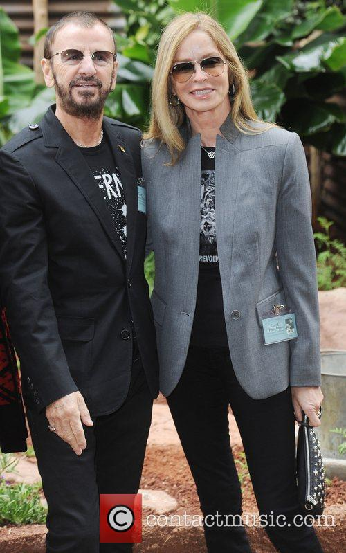 ringo starr and barbara bach chelsea flower 5847518