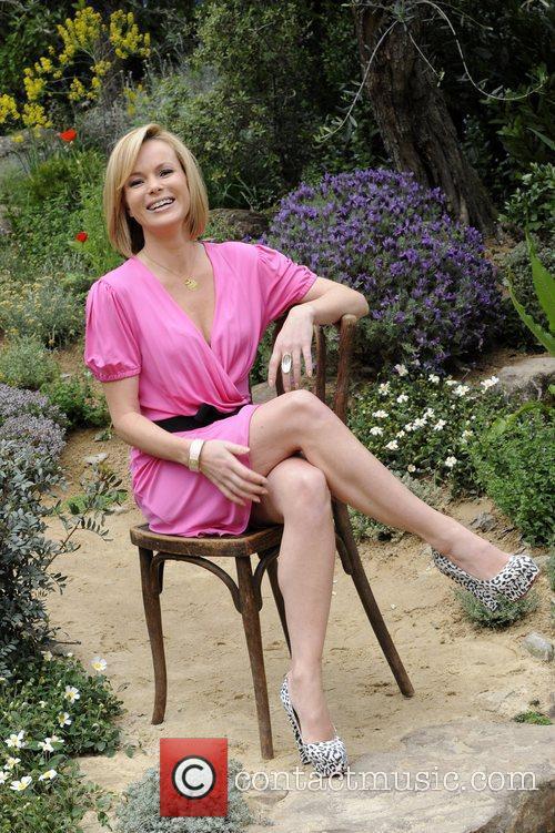 Amanda Holden The RHS Chelsea Flower Show 2012...
