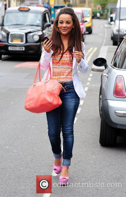 Chelsee Healey out and about in Liverpool Liverpool,...