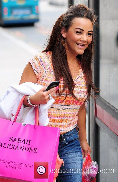 Chelsee Healey shopping in Liverpool Liverpool, England