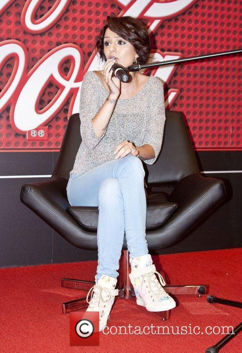 Cher Lloyd appears in 103.5 KISS FM Chicago...
