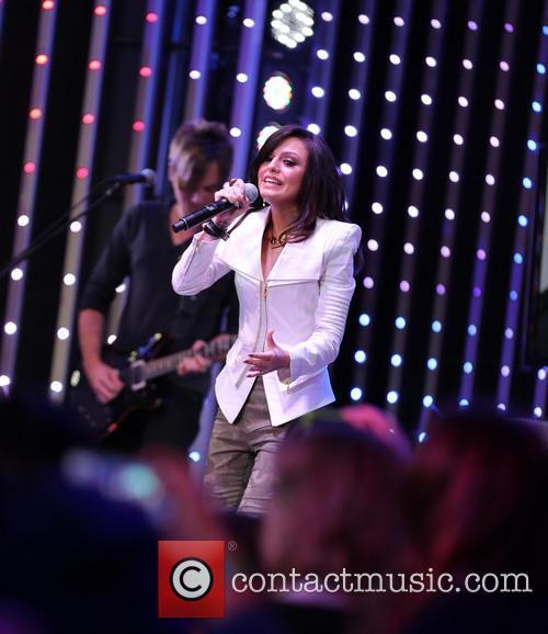 Cheryl Lloyd performs at Universal Citywalk in Studio...