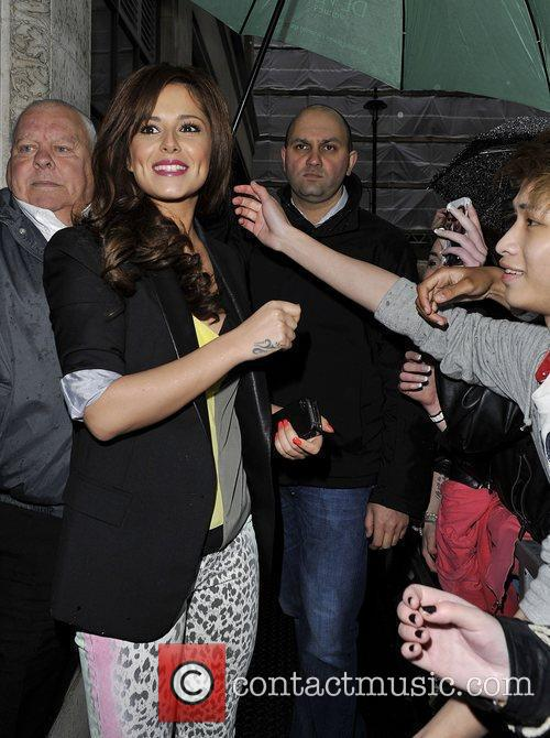 cheryl cole at the bbc radio 1 3846070