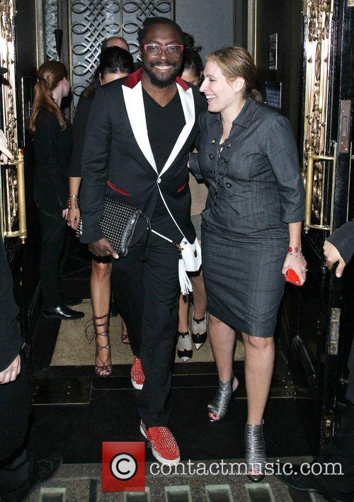 Will.i.am, Cheryl Cole and Scott's Restaurant