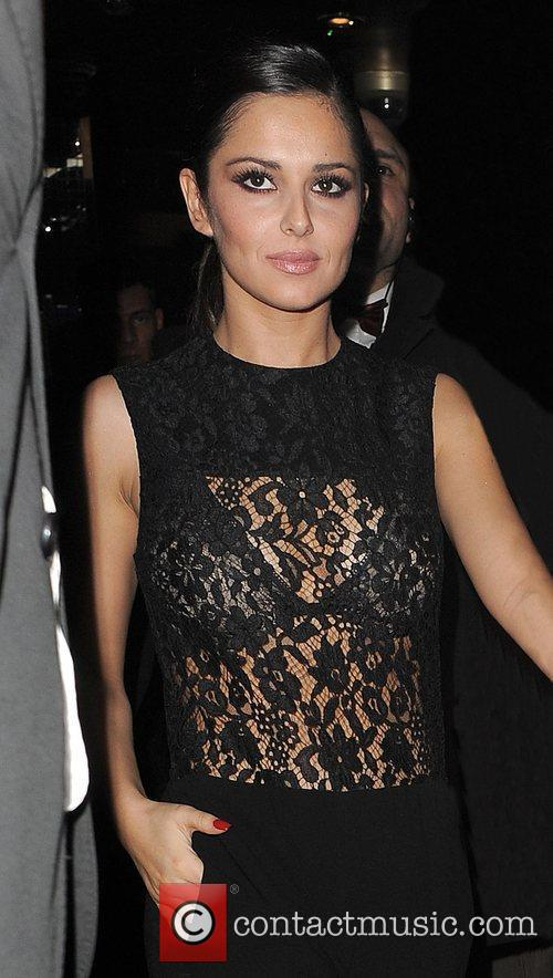 Cheryl Cole leaving The Rose Club, after a...
