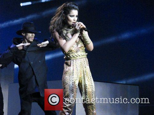 cheryl cole performing live in concert at 4111755