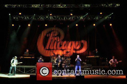 Chicago performs live at Massey Hall. Toronto, Canada